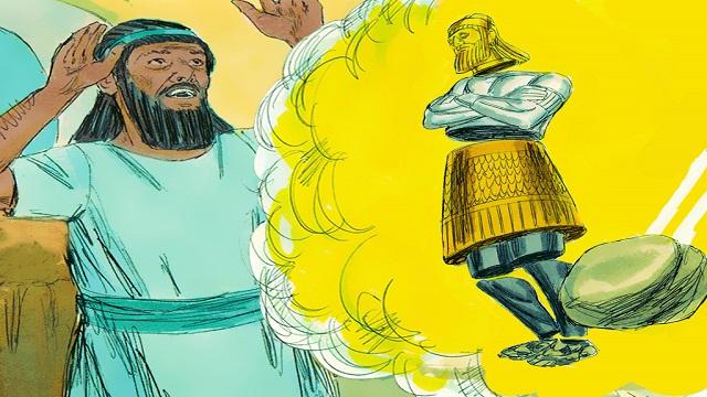 Storie della Bibbia: Daniele diede al re l'interpretazione del sogno