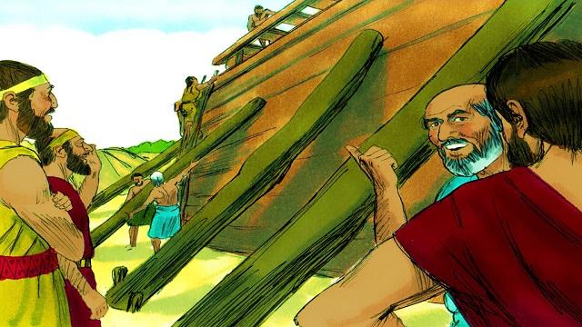 Storie della Bibbia: l'arca di Noè