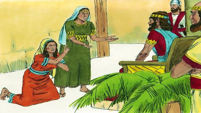 Storie della Bibbia: il giudizio sapiente di Salomone