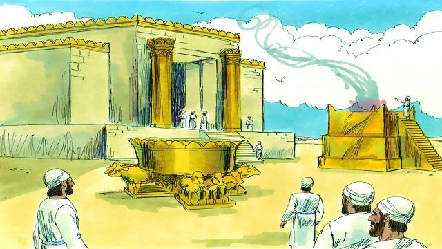 Storie della Bibbia: la costruzione del tempio di Salomone