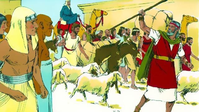 Storie della Bibbia gli Israeliti attraversano il mar Rosso
