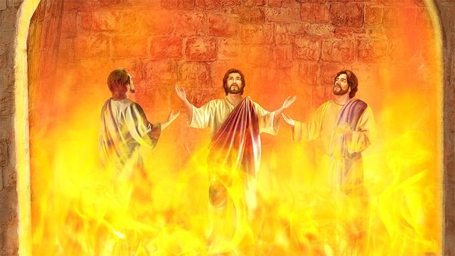 Storie della Bibbia: tre santi furono gettati nella fornace ardente