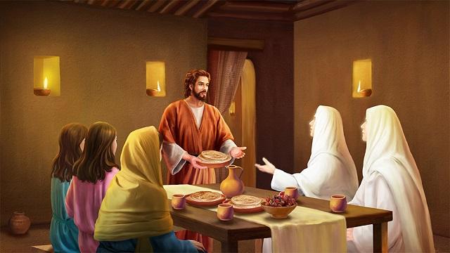 Storie della Bibbia: Lot ricevé i due angeli