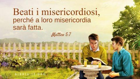 versetti biblici sulla misericordia