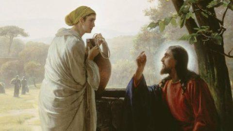 Vangelo della samaritana: Gesù e la donna samaritana