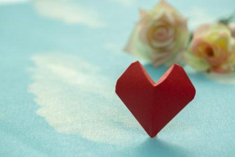 Un cuore rosso