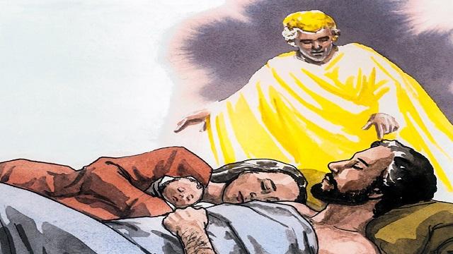 Storie della Bibbia: un angelo del Signore apparve in sogno a Giuseppe