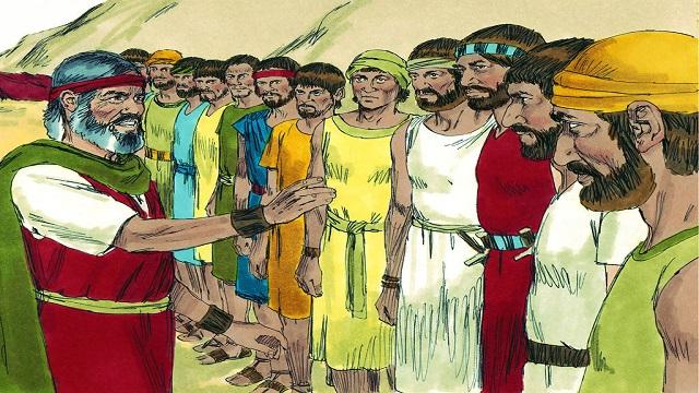 Storie della Bibbia: I dodici esploratori mandati in Canaan