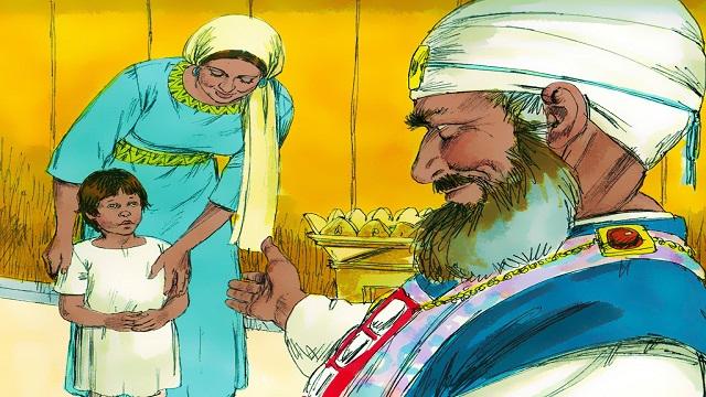 Storie della Bibbia: Samuele è dedicato a Dio