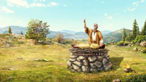 Storie della Bibbia: Abramo offre Isacco