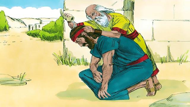 Storie della Bibbia: Davide unto re da Samuele