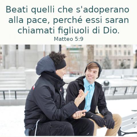 Due cristiani stanno parlando