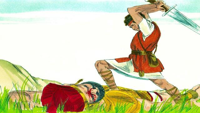 Storie della Bibbia per bambini: Davide vince Golia