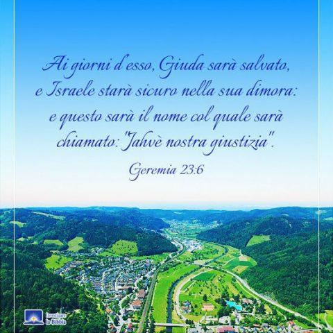 Montagne e fiumi sono creati da Dio.