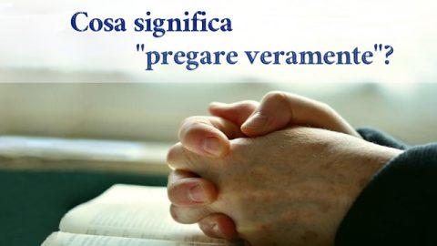 I cristiani stanno pregando