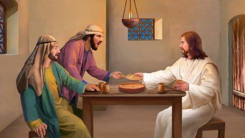 La risurrezione del Signore Gesù apparve ai due discepoli