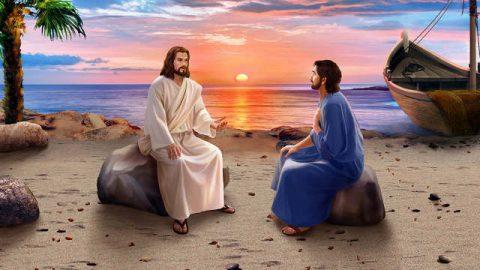 Gesù parla ai Suoi discepoli dopo la Sua resurrezione