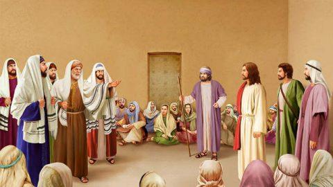 Il giudizio dei farisei su Gesù