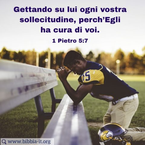 1 Pietro 5:7