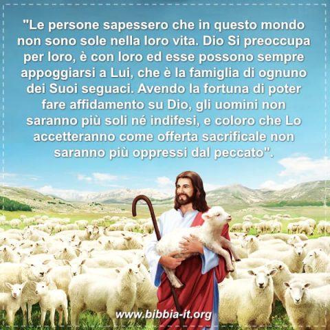 Dio è il caro di coloro che lo seguono