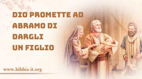 Dio promette ad Abramo di dargli un figlio
