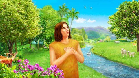 Il comando di Dio ad Adamo
