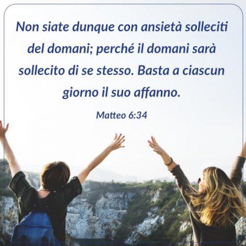 Matteo 6:34