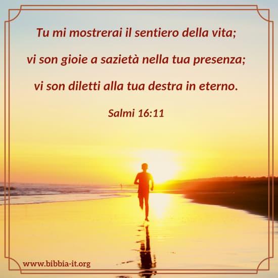 Frasi Della Bibbia Sulla Vita.Salmi 16 11
