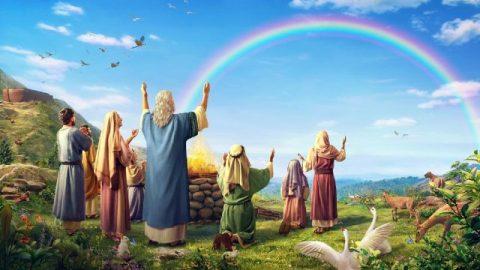 Dio rende l'arcobaleno un simbolo del Suo patto con l'uomo