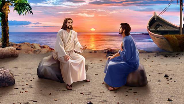 il Signore Gesù Pietro