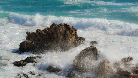 Onde dell'oceano