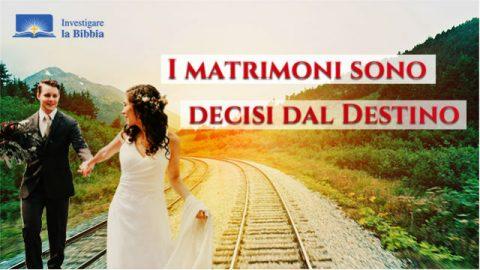 Il matrimonio felice è la disposizione di Dio
