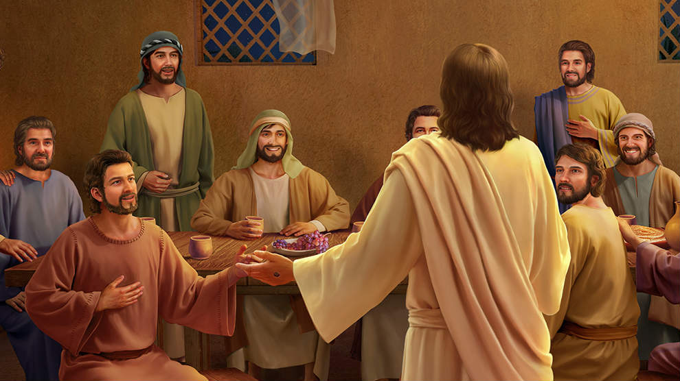 Gesù,scepoli,pesce,pietro,cena