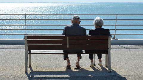 Due cristiani anziani