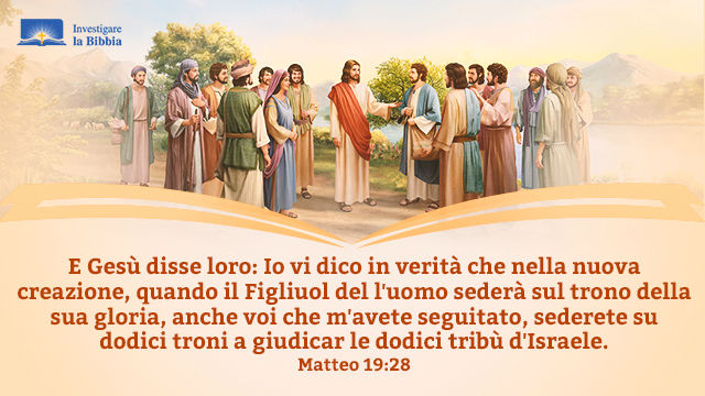 Gesù sta raccontando la storia