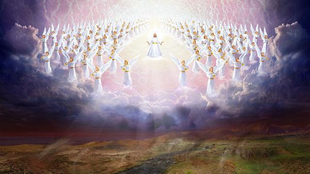 Il Signore Gesù prese gli angeli