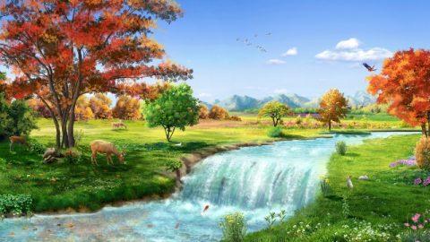 Dio fornisce l'acqua viva della vita umana