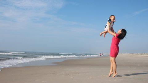 Dio dà a mamma un bambino