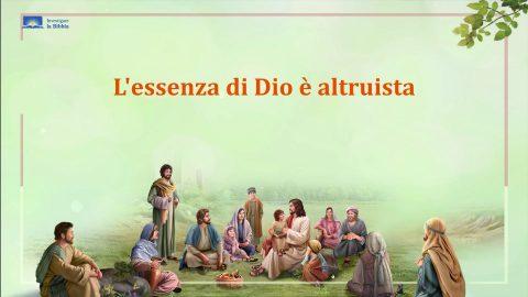 Il Signore Gesù abbracciò il bambino e predicò ai discepoli.