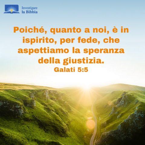 Dio dà vita a tutte le cose