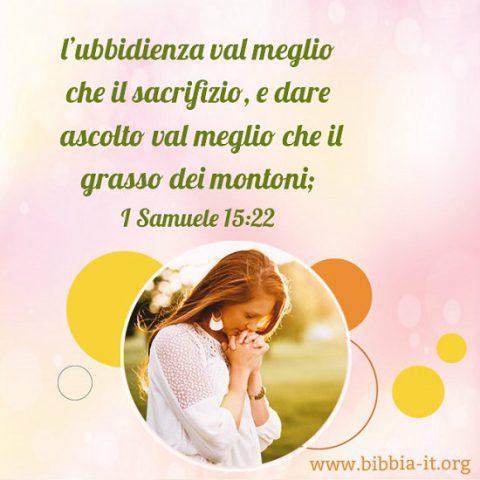 I Samuele 15:22