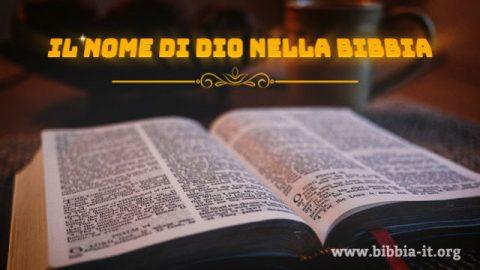 Profezie della Bibbia: i nomi di Dio nella Bibbia