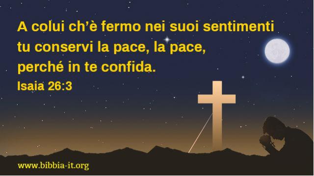 croce sotto le stelle di notte