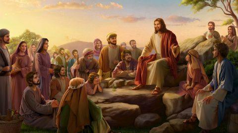 Il Signore Gesù predicò ai discepoli sulla montagna