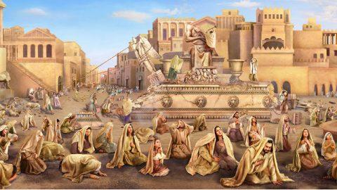 Dio vede il sincero pentimento nel profondo del cuore dei Niniviti