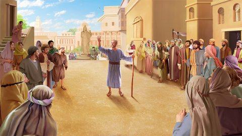 L'avvertimento di Jahvè Dio raggiunge i Niniviti
