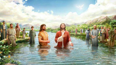 Signore Gesù battezzato