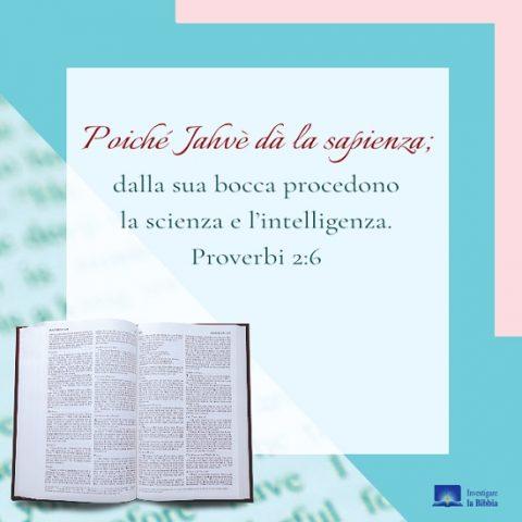 sciritto nella Bibbia.
