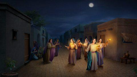 Il messaggi di Gesù : sei una vergine saggia?