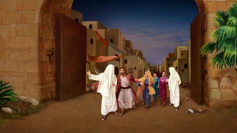 Angel guidò la famiglia Rodi a Sodoma